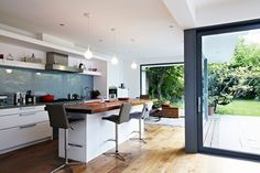 Blue Sky Thinking - Kitchen Design Ideas & Pictures – Decorating Ideas (houseandgarden.co.uk)