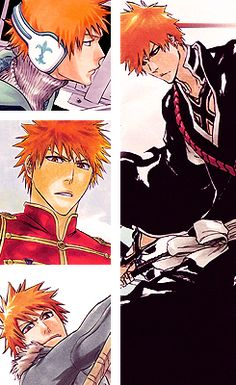 Find images and videos about bleach and kurosaki ichigo on We Heart It - the app to get lost in what you love. Bleach Fanart, Bleach Manga, Ichigo E Orihime, Manga Anime, Anime Art, Naruto, Shinigami, Anime Shows, Cute Anime Pics
