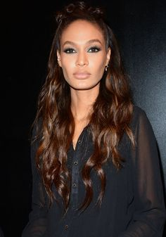 Joan Smalls at the Karl Lagerfeld Paris x ELLE event in New York on October 18, 2016