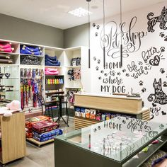Boutique Interior, Pet Boutique, Dog Grooming Shop, Dog Grooming Salons, Coffee Room, Pet Hotel, Web Design, Retail Store Design, Animal Decor