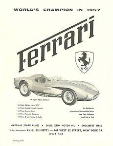1958 Ferrari ad