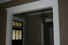 craftsman style door and window casing.  Door & Window Trim / Casing Overhaul - Craftsman Style-doortrima.jpg