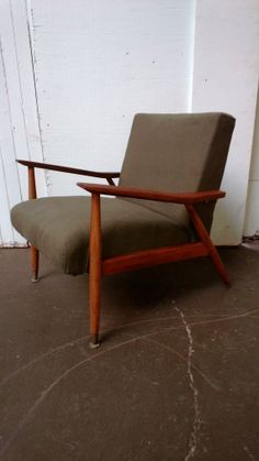 Danish Modern Chair. Great Lines. Eames Era, Lounge Chair, Mid Century Modern…