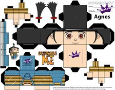 Free Cubeecraft of Agnes from Despicable Me | SKGaleana