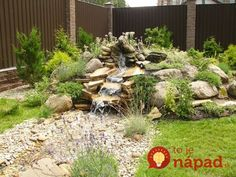 Rock gardens are a fantastic way of adding unique shapes and textures of rocks and garden landscape ideas that give a natural feel to your backyard or front yard decorating Landscaping With Rocks, Backyard Landscaping, Landscaping Ideas, Nice Backyard, Rock Garden Design, Diy Garden Projects, Garden Ideas, Garden Stones, Rocks Garden