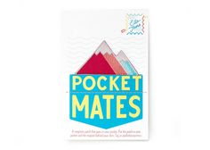 Pocket Mates - Patches for your pocket - Majestic Mountains by ElloThere on Etsy https://www.etsy.com/listing/242289983/pocket-mates-patches-for-your-pocket