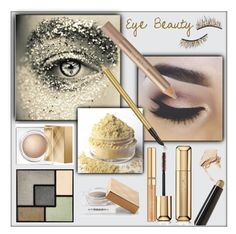 """Eye Beauty"" by frenchfriesblackmg ❤ liked on Polyvore featuring bellezza, Burberry, NARS Cosmetics, Estée Lauder, Guerlain, By Terry, Yves Saint Laurent e Kre-at Beauty"