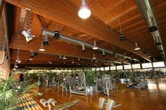Fitness Centre at the Salaria Sport Village, Roma (I) - Rubner Holzbau - The ideal partner for large wood projects