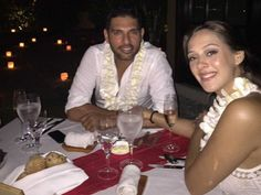 Breaking News: Yuvraj Singh is engaged. Here are exclusive pictures...  #YuvrajSingh #Diwali #Bali #HazelKeech #Cricket #Cricketer #India #Actress #Relationship #Engagement #Marriage
