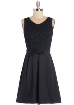 """Entrance of Elegance Dress in Noir. A chorus of """"oohs"""" and """"ahhs"""" erupt as you step out of the car - but thats no surprise, since youre wearing this pretty black dress! #black #wedding #bridesmaid #modcloth size 2x worn once. Not SS. Prefer to swap or sell for $40 plus shipping"""