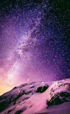 Milky Way over Austria