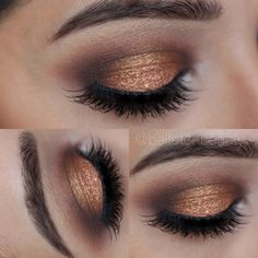 Amberlights by MAC such a beautiful eyeshadow!