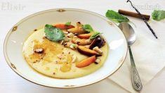 Varila mamička kašičku: Rýchle teplé raňajky pre malých i veľkých - Magazín Polenta, Hummus, Cantaloupe, Fruit, Ethnic Recipes, Food, Essen, Meals, Yemek