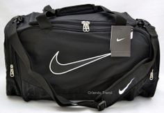 a9852d7408aa Nike Duffel Gym Bag Brasilia 5 Black Medium Duffle Travel Men Women Boys  Girls  Nike