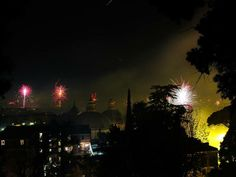 Newyear's Fireworks from Pincio-Rome  Roma, Piazza del popolo; Viewed from Pincio  at 00:00 January the 1st, 2014   #newyear's #2014 #rome #fireworks #Italy #Italia #Rome #Roma #Capital #festival #celebration #night #nightlife #photo #photography #nightshot #pincio