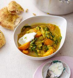 Rezept: Linsen-Spinat-Curry