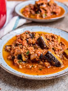 Simple and tasty recipe for this classic Turkish stew of minced beef, aubergine and tomato.