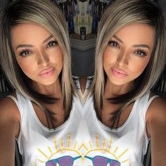 Gray Lace Frontal Wigs hair dye not covering grey – baiwangshop Pelo Color Plata, Medium Hair Styles, Short Hair Styles, Langer Bob, Hair Color And Cut, Silky Hair, Fall Hair, Pretty Hairstyles, African Hairstyles