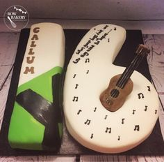 Jessica is obsessed with Ed Sheeran. She has requested this cake for her 16th birthday.