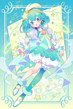 Magical girl - cure milky