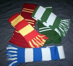 Harry potter scarf, no pattern