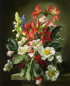 Gerald A. Cooper  (1899-1975)  — Flower Piece (775x944)