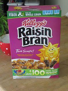 Sew Many Ways...: The Nester Club...Raisin Bran Muffin Recipe
