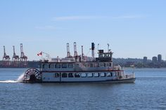 CONSiTUTION, Vancouver Harbour Stern paddle wheeler