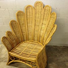 The famous peacock chair... True vintage  Palm Beach