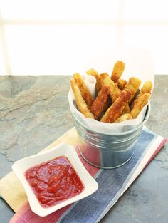 "Low Carb & Gluten Free Eggplant ""Fries"" - I Breathe... I'm Hungry..."