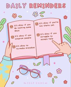 Reminder Quotes, Daily Reminder, Self Reminder, Cheer Up Quotes, Self Care Bullet Journal, Chibird, Vie Motivation, Cute Messages, Cute Texts