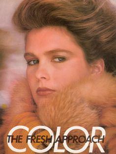 US Vogue September 1981 Color The Fresh Approach Photo Andrea Blanch & Irving Penn  Models Kim Alexis, Kelly LeBrock, Rosemary McGrotha, Thom Fleming & Barbara Neumann