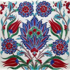 How one can Adorn Ceramic Tiles Turkish Tiles, Turkish Art, Turkish Plates, Portuguese Tiles, Moroccan Tiles, Moroccan Decor, Islamic Tiles, Islamic Art, Turkish Pattern
