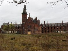Barnes Hospital, also known as Barnes Convalescent Home, is located in Cheadle, Greater Manchester, England. Built in It is recognizable for its eerie and somber Gothic aesthetic reminiscent of a monastery. Abandoned Asylums, Abandoned Houses, Abandoned Places, Abandoned Hospital, Gothic Aesthetic, The Secret History, Westminster Abbey, English Roses
