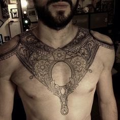 One of the more beautiful chest pieces I've seen--by mxm