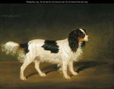 cavalier king charles painting