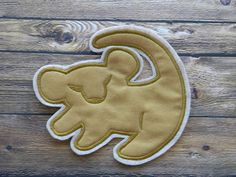 Simba ~The Lion King  Symbol ~ Embroidered Iron On ~ Applique ~ Patch ~ Do It Yourself on Etsy, £4.88