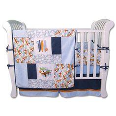 Trend Lab Surf's Up 4-Piece Crib Bedding Set | BabiesRUs