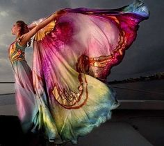 Spread your wings wide!
