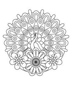 Flower Mandala Doodle Doodle Is Art – Coloring Mandalas Spring Coloring Pages, Mandala Coloring Pages, Coloring Book Pages, Coloring Sheets, Mandala Drawing, Mandala Painting, Dot Painting, Mandala Art, Mandala Doodle