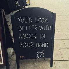 You always look better with a book!