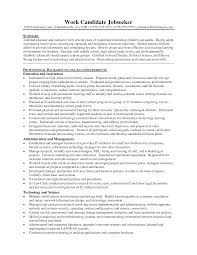 resumes for teachers examples