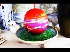 CERAMIC ART - clay bowl liquid bottom effect made from glass - throwing ...