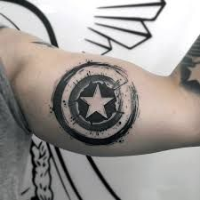 Image result for captain america tattoo