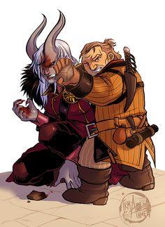 Adaar & Varric