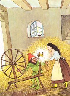 Vintage Rumpelstiltskin illustration page Gyo by ArcaniumAntiques, $15.00