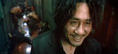 """Laugh and the world laughs with you. Weep and you weep alone.""  Oldboy (2003)"