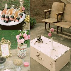 Sparkly Vintage Movie Night 13th Birthday // Hostess with the Mostess®