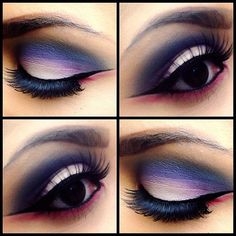 <3<3 I love matte shadow!!! it allows you to see the contrast of color so well..