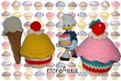 cup cake crochet